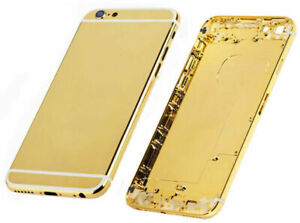 Beautiful Plated Gold Phone Back Cover Frames fit for iPhone 6 6s 6 Plus