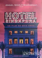 HOTEL SINGAPURA - IN THE ROOM - SEXY WOMAN - ORIGINAL SMALL FRENCH MOVIE POSTER