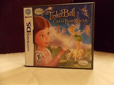 Disney Fairies Tinker Bell and the Great Fairy Rescue Nintendo DS NDSCOMPLETE