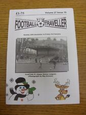 15/12/2013 The Football Traveller Magazine: Volume 27 Issue 19 - Cover photo - C