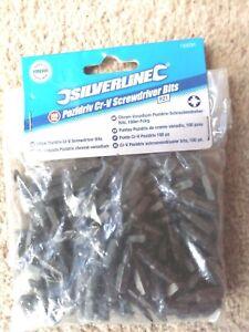 Silverline 733231 PZ1  Cr-V Screwdriver Bits 100pk