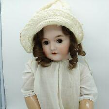 """Antique Karl Hartmann? German Bisque Head & Comp Body Doll 1911-1926 27"""""""