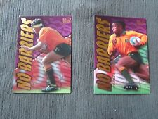 Futera No Barriers Cards-George Gregan and John Eales
