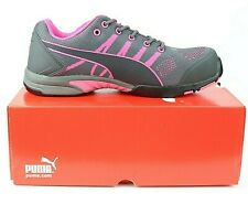 Puma Celerity Knit Pink Low Womens Steel Toe Safety Work Shoes Size 8.5, #642915