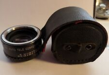 Asanuma Auto Tele Converter 2x For Pentax Camera Lens