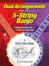Dual Arrangements for the 5-String Banjo Sheet Music Frailing Clawhamm 000193460