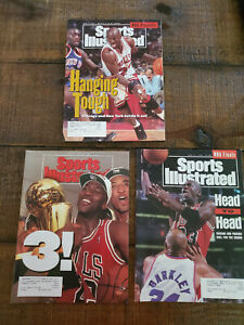 Michael Jordan Sports Illustrated 3 magazine lot from 1993