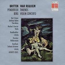 Benjamin Britten : War Requiem (Kegel, Dresden Philharmonic) CD 2 discs (2003)