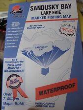 FHS Fishing & Boating Map Chart GPS Points Guide Sandusky Bay Lake Erie M380