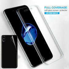 For iPhone 11 Pro Max XS XR X Hydrogel Flexible Film Invisible Screen Protector