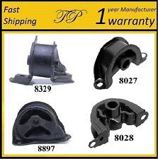 4 PCS MOTOR & TRANS MOUNT FOR 1994-2001 Acura Integra 1.8L - Manual