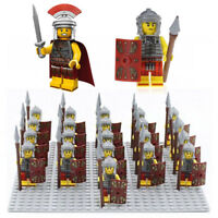 21Pcs/Set Roman Military Centurion Soldiers Minifigures Army Toys Adult Kid Gift