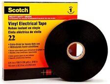 3M SCOTCH VINYL ELECTRICAL TAPE Heavy Duty *USA Brand- 33mx38mm Or 33mx50mm