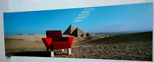 Plakat Ettore Sottsass  Westside Collection Knoll Int. Pyramiden TOP!