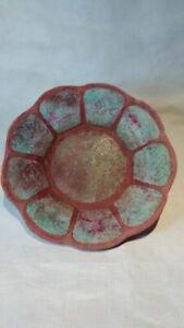 Rorke's Drift ELC raku Zulu ceramic plate