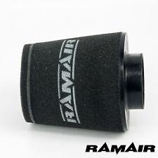 Ramair Inducción Cono Espuma Filtro De Aire Universal Ancho 80mm hecho en el Reino Unido