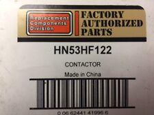 Genuine OEM Carrier / Bryant HN53HF122 Contactor 75 amp 3 pole 120 volt coil