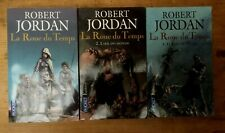 LA ROUE DU TEMPS 1/2/3 Robert Jordan Pocket Fantasy