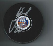 Marek Zidlicky Signed New York Islanders Puck