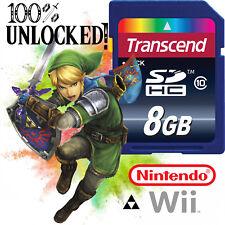 THE LEGEND OF ZELDA Nintendo Wii SD CARD SAVES Skyward Sword Twilight Princess