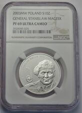 10 zl 2003 - Polen - General Stanislaw Maczek - NGC PF69 Ultra Cameo
