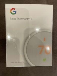 Google Nest Thermostat E (T4001ES) Pro Edition - White