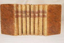LE PHILOSOPHE ANGLOIS OU HISTOIRE MONSIEUR CLEVELAND 8/8 CROMWEL 1757 RELIURES