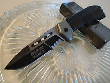 Mtech Ballistic Assisted Open 2 Tone Split Blade Tactical Pocket Knife MT-A897BS