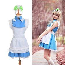 Women Minami Kotori Maid Dress Japanese Anime Love Live Series Cosplay Costume