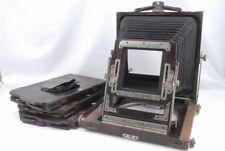 *Read 4 3/4 x 6 1/2 Wood Field Camera Body w/Film Holder 3 *WF8231