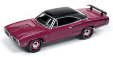1/64 JOHNNY LIGHTNING CLASSIC GOLD 1970 Dodge Super Bee in Panther Pink