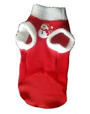 Adult S/M SNOWMAN Sphynx cat clothes, sweater for a cat, HOTSPHYNX, winter cat
