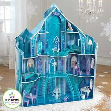 KidKraft Disney® Frozen Snowflake Mansion Wooden Kids Dolls House Furniture Anna