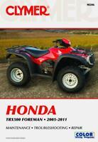 Honda TRX500 Foreman Series ATV 2005-2011 Repair Manual