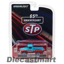 Pick-ups miniatures bleus 1:64