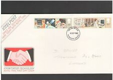 UNITED KINGDOM: #22 - FDC / INFORMATION TECHNOLOGY  / Fine Used-Offered AS IS.
