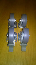 Heavy Duty 75mm Swivel quality Castor Wheels for Trolley Furniture Industrial