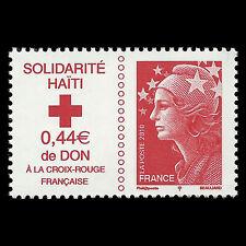 France 2010 - Red Cross - Haiti Solidarity - Sc B718 MNH