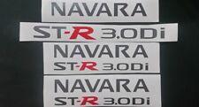 Nissan Navara D22 3.0 sticker / decal set Gunmetal grey 10 year vinyl.