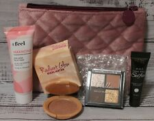 IPSY makeup bag with four NEW sample size items MASK FOUNDATION EYE SHADOW