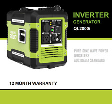 New Qinglong 2KVA Max /1.7KVA Rated Inverter Generator Camping Portable Sinewave