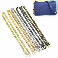 Replacement Metal Chain Strap Handle Shoulder Crossbody For Purse Bag Handbag US