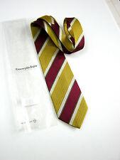 Luxury ERMENEGILDO ZEGNA NEW NEW Silk Silk ORIGINAL