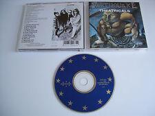 EARTHQUAKE Theatricals CD 1993 VERY RARE OOP THRASH ORIGINAL 1st PRESS!!!