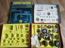 DDR Metall Baukasten CONSTRUCTION 200 120 Motor 1978 Pfaff *unvollständig*