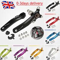 UK Crank/Pedal 9/16in Single/Double/Triple 104bcd Aluminum MTB Bike Chainset