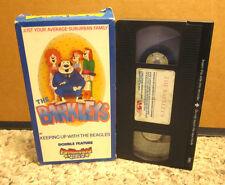 BARKLEYS Beagle cartoon 1970s All In Family spoof Julie Dees animation VHS