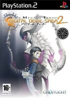 Shin Megami Tensei - Digital Devil Saga 2 For PAL PS2 (New & Sealed)