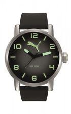 Puma Herrenuhr Uhr Schwarz Neon Silikon 10 ATM 48 mm Groß PU104141002