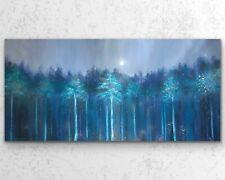 50x100cm X LARGE ORIGINAL Painting- Captivating Forest Art By JENNIFER TAYLOR